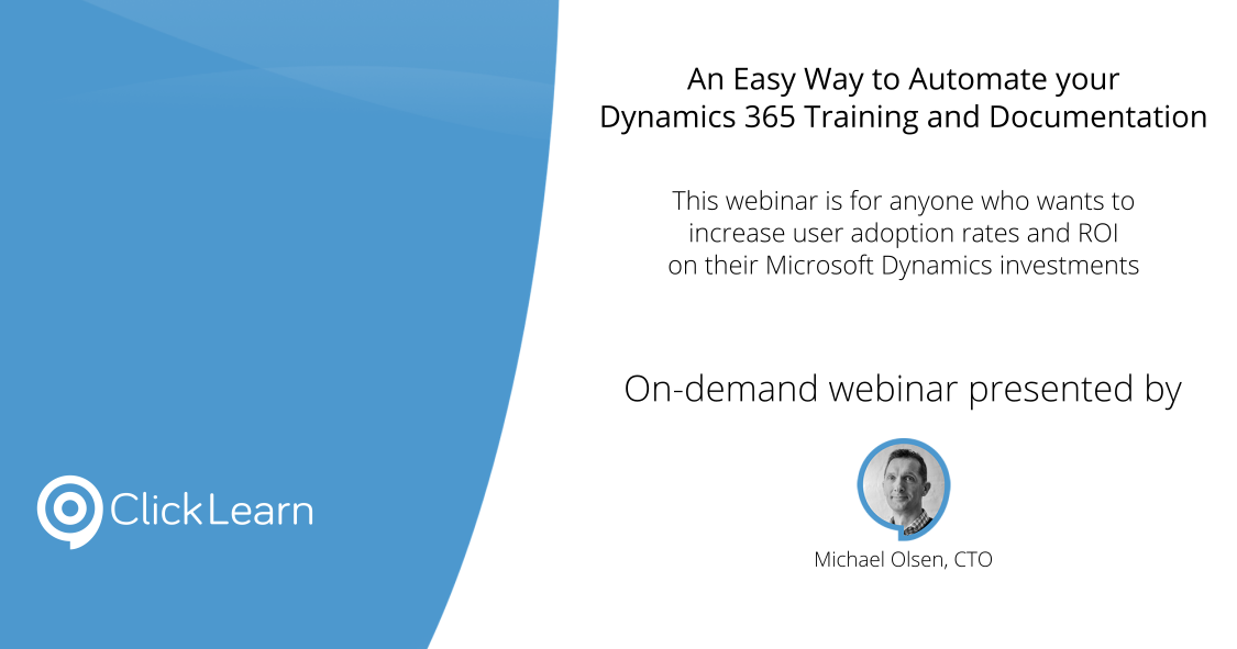 On-demand webinar | An Easy Way to Automate your Dynamics
